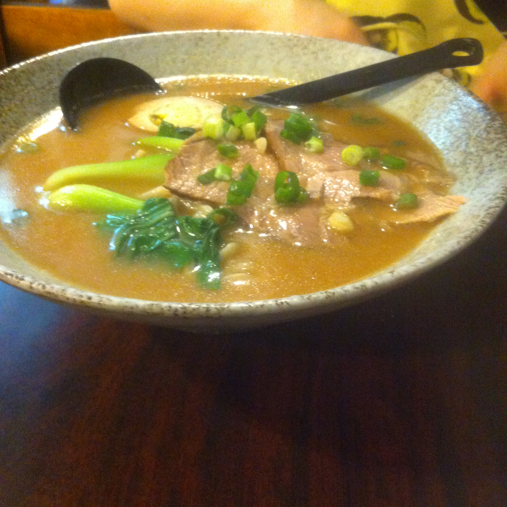 新北投の満客屋温泉拉麺