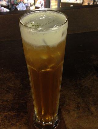 【お茶】誠品西門店Latteカフェの綠蓋茶