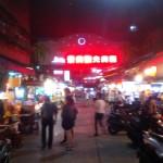 景美夜市は30年あまりの歴史がある伝統夜市だ。