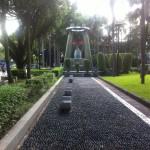 二二八和平公園にはなんと台湾初の蒸気機関車があるよ!