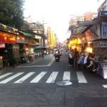台北市の中でも超一等地の場所に位置する「遼寧街夜市」
