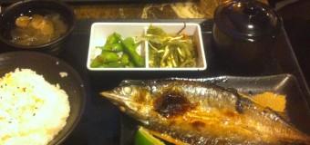 百八魚場という台湾日本式定食屋の魚料理はGOOD!