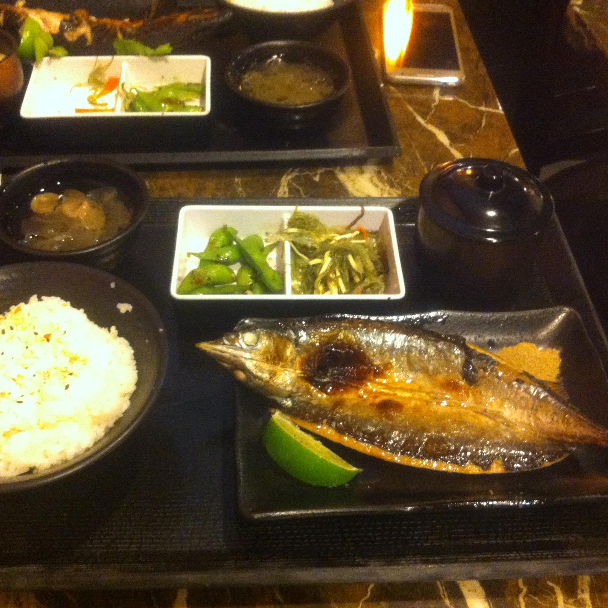 【グルメ】百八魚場という台湾日本式定食屋の魚料理はGOOD!