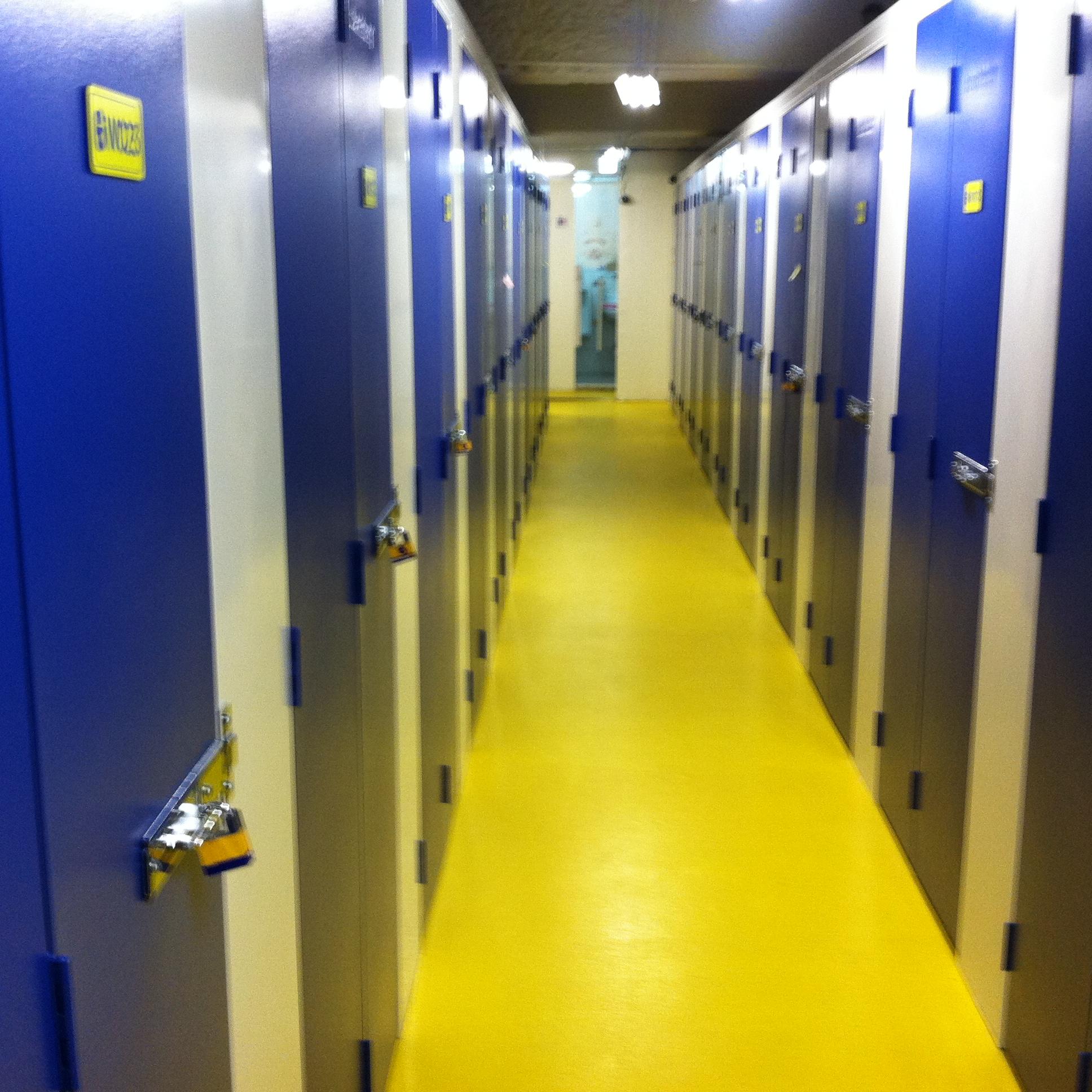 台北の貸倉庫、トランクルームを利用する。