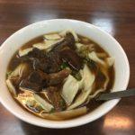 【西門】萬年商業ビルの地下の人気牛肉麺を喰ってきたww