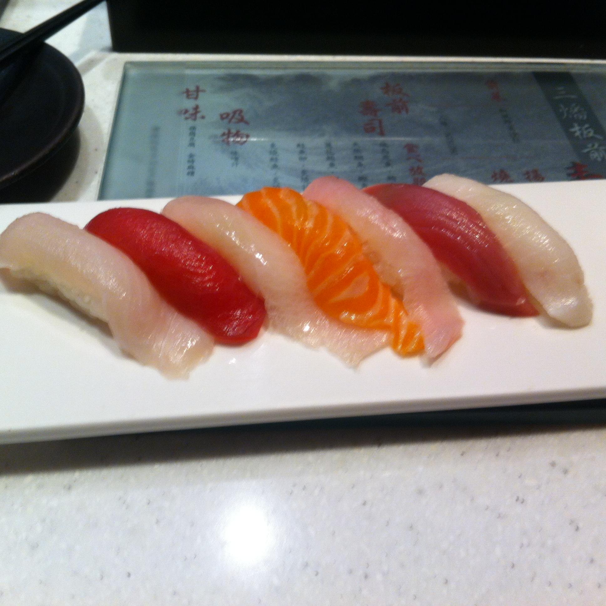 【グルメ】三燔美麗華握り寿司食べ放題