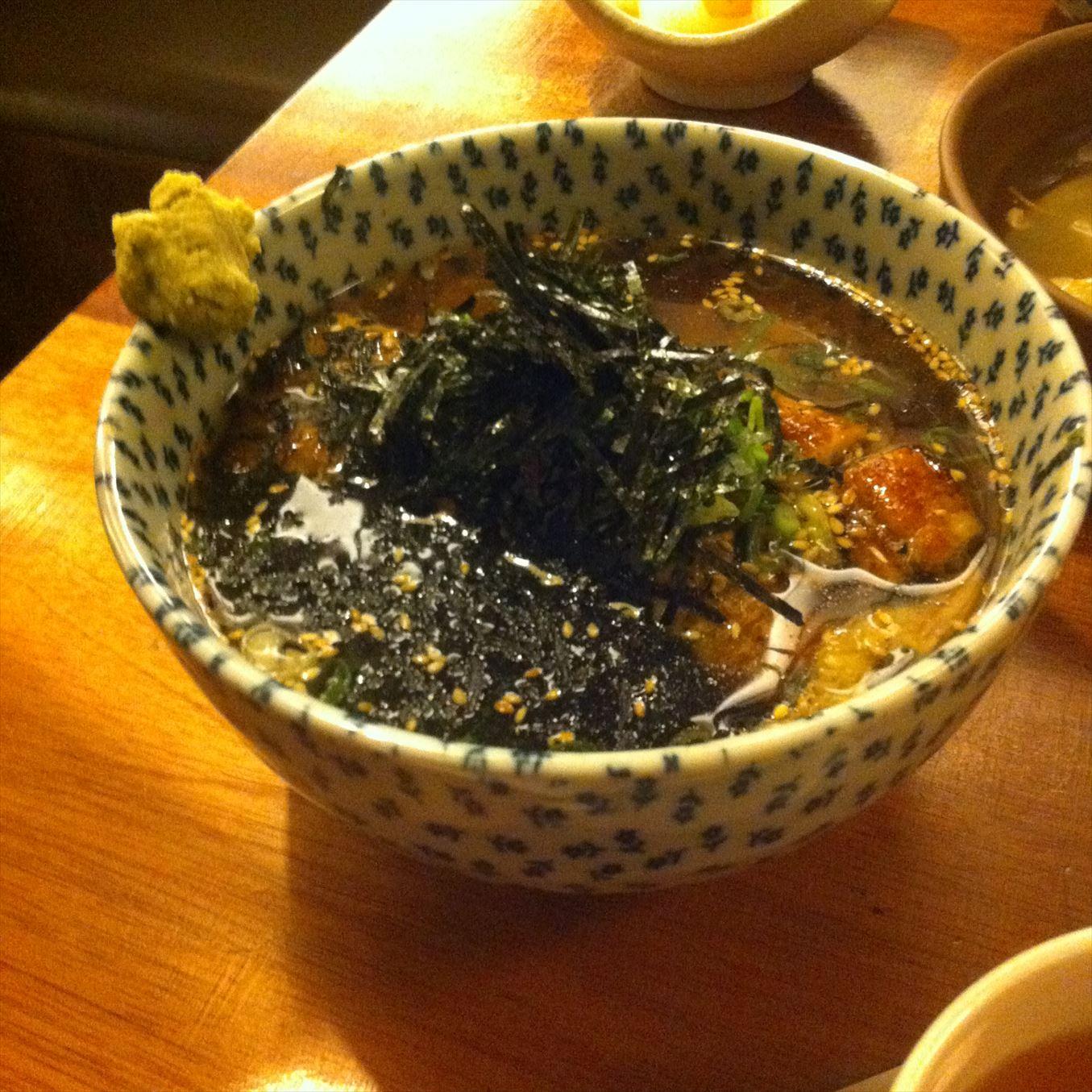 【グルメ】台中のうなぎ料理店「一膳」