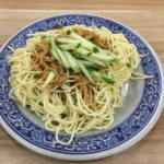 【グルメ】玖伍川味牛肉麵の涼麺