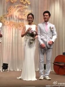 台湾トップ女優・アリエル・リンが台北市内のホテルで婚約披露宴
