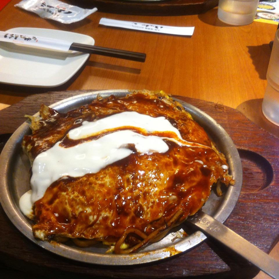 台北で元祖モダン焼きを食べるならぼてじゅう屋でしょ!