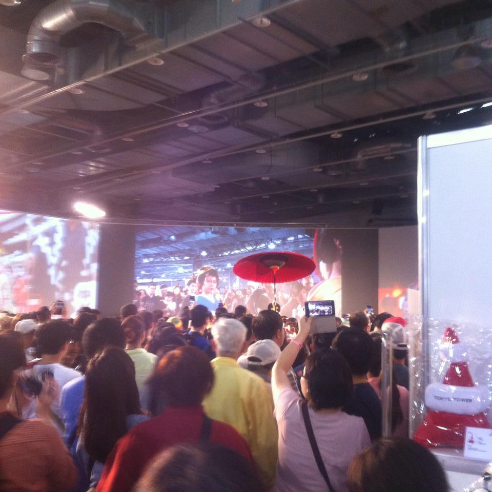台灣史上最大規模日本展 【Touch The Japan】にAKBを見に行ってきました。