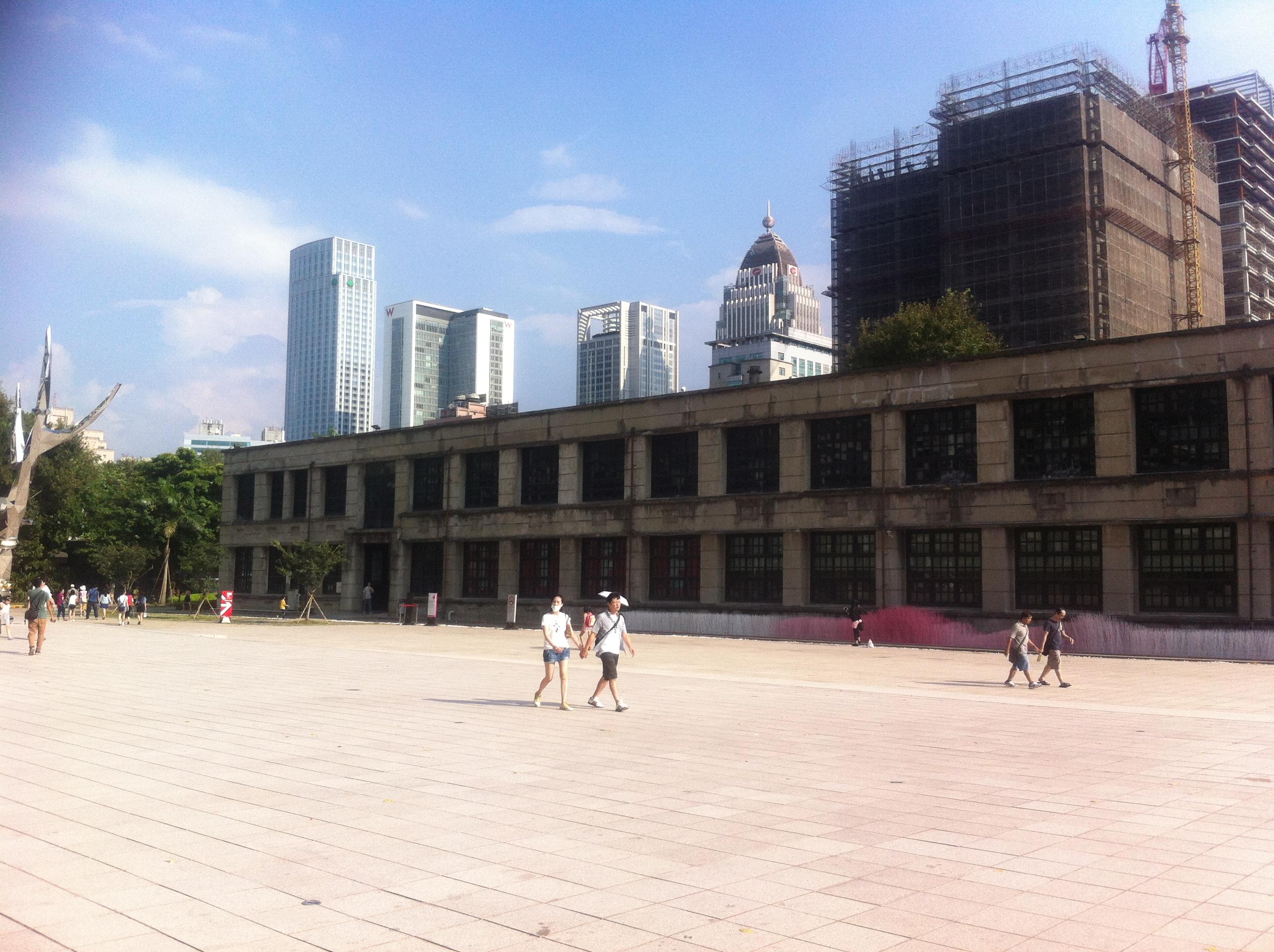 【観光】松山文創園区で現代のデザインやアートを楽しむ♪