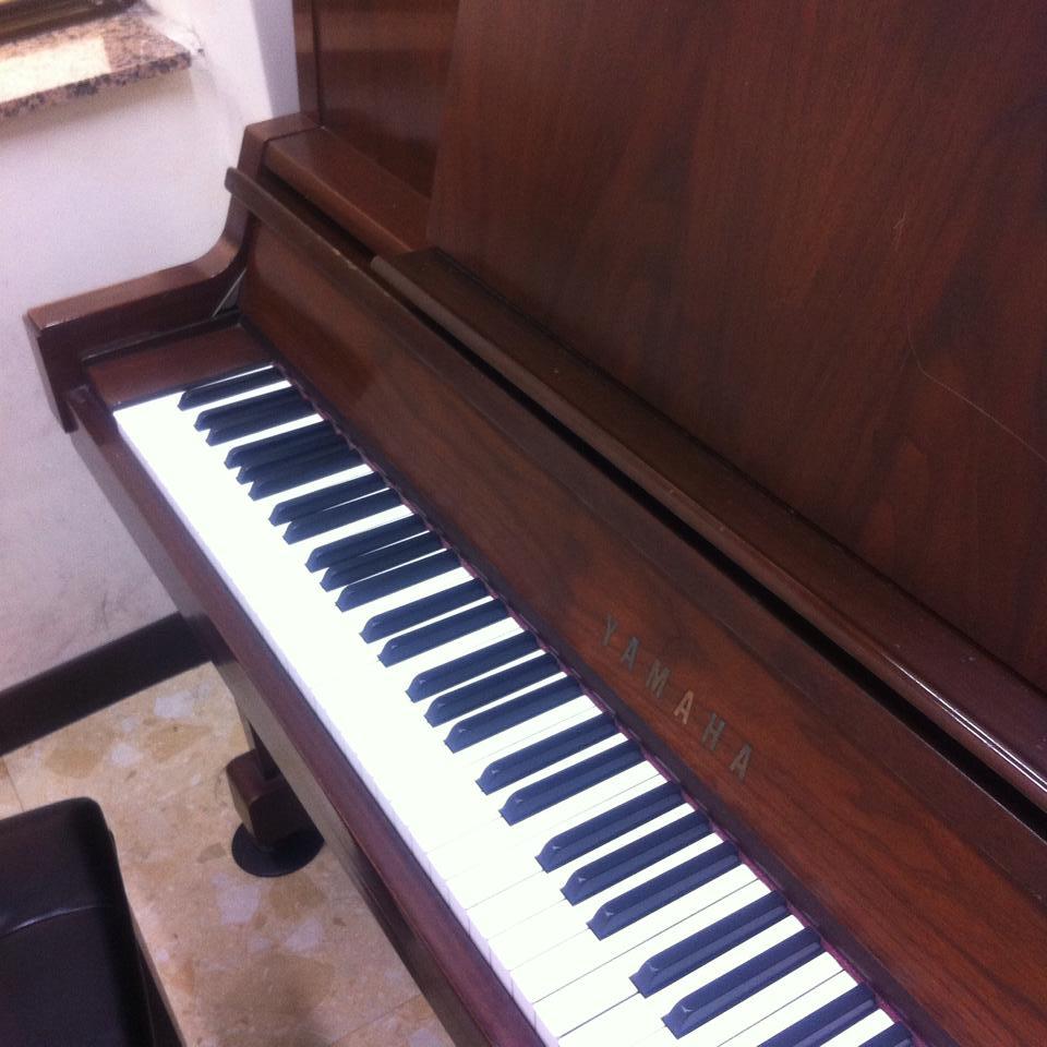台北のピアノ練習室で練習する♪