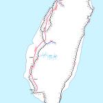 日本と台湾には、同じ駅名が32駅あるんですね~。