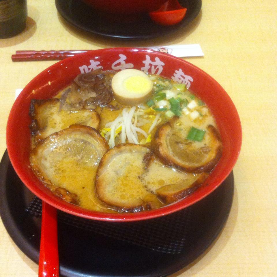 【グルメ】熊本ラーメン「味千」