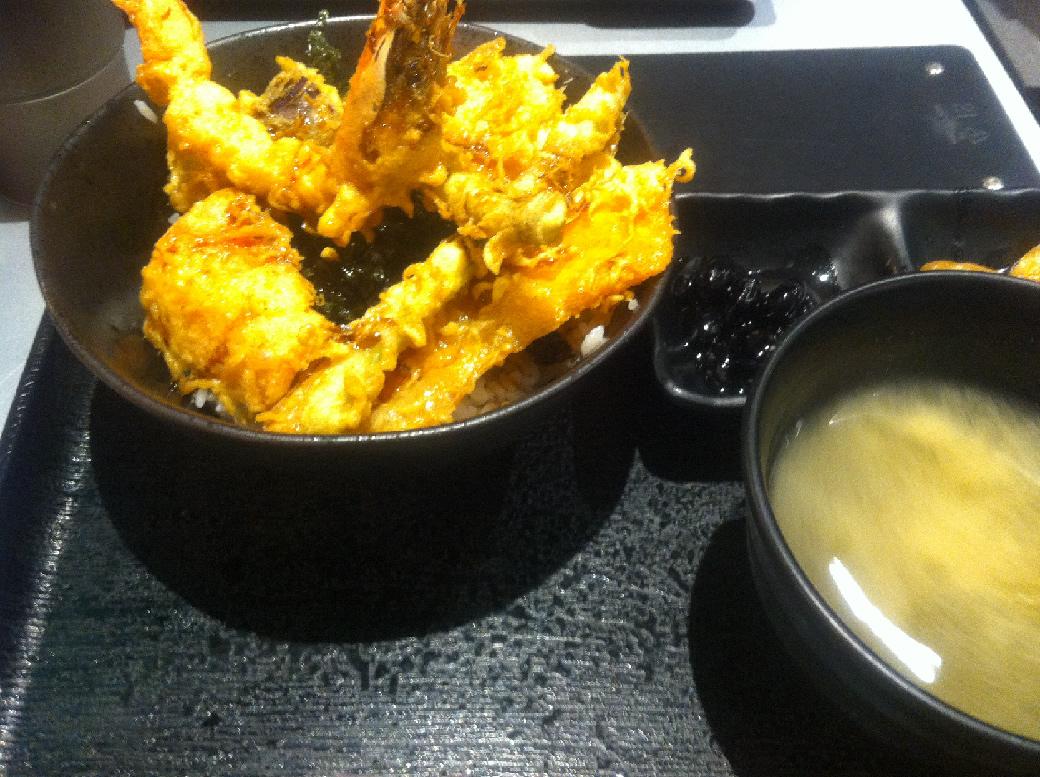【グルメ】台北で気軽に天丼を食べるならココ!